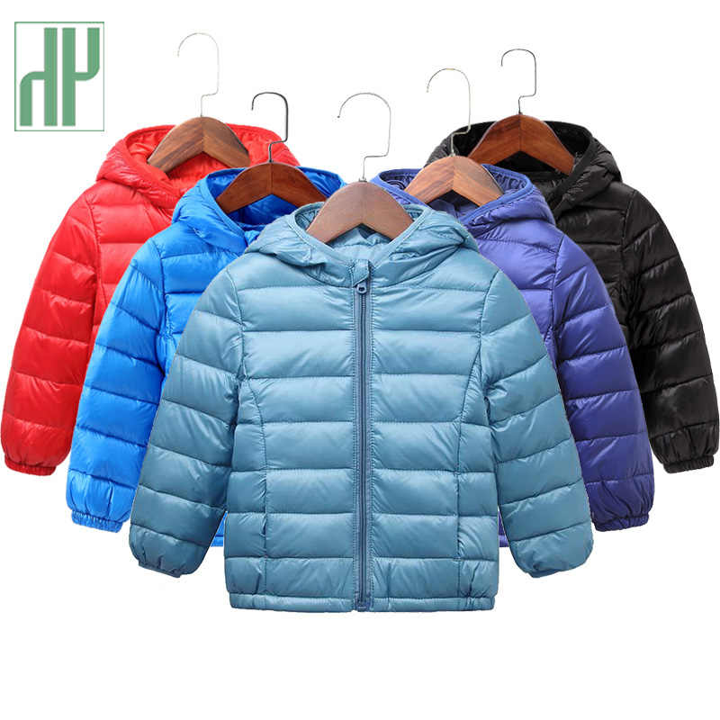 HH Kids Coats Autumn Winter jacket for girls parka cotton Down children toddler boy outerwear snowsuit baby infant jackets