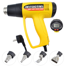 Thermal-Power-Tool Heat-Guns Electric Industrial Lcd-Display 2000W EU 220V