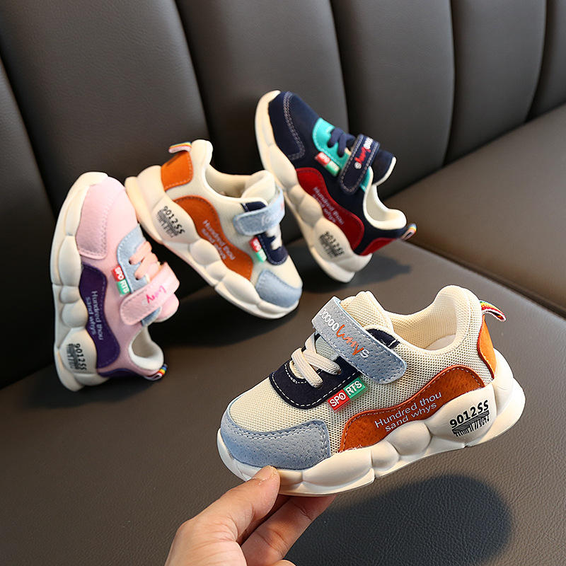 Kids Shoes Baby Boy Girl Soft Sole Crib Shoes Anti-slip Sneaker Children Running Shoes For Boys Fashion Sport Kids Sneakers