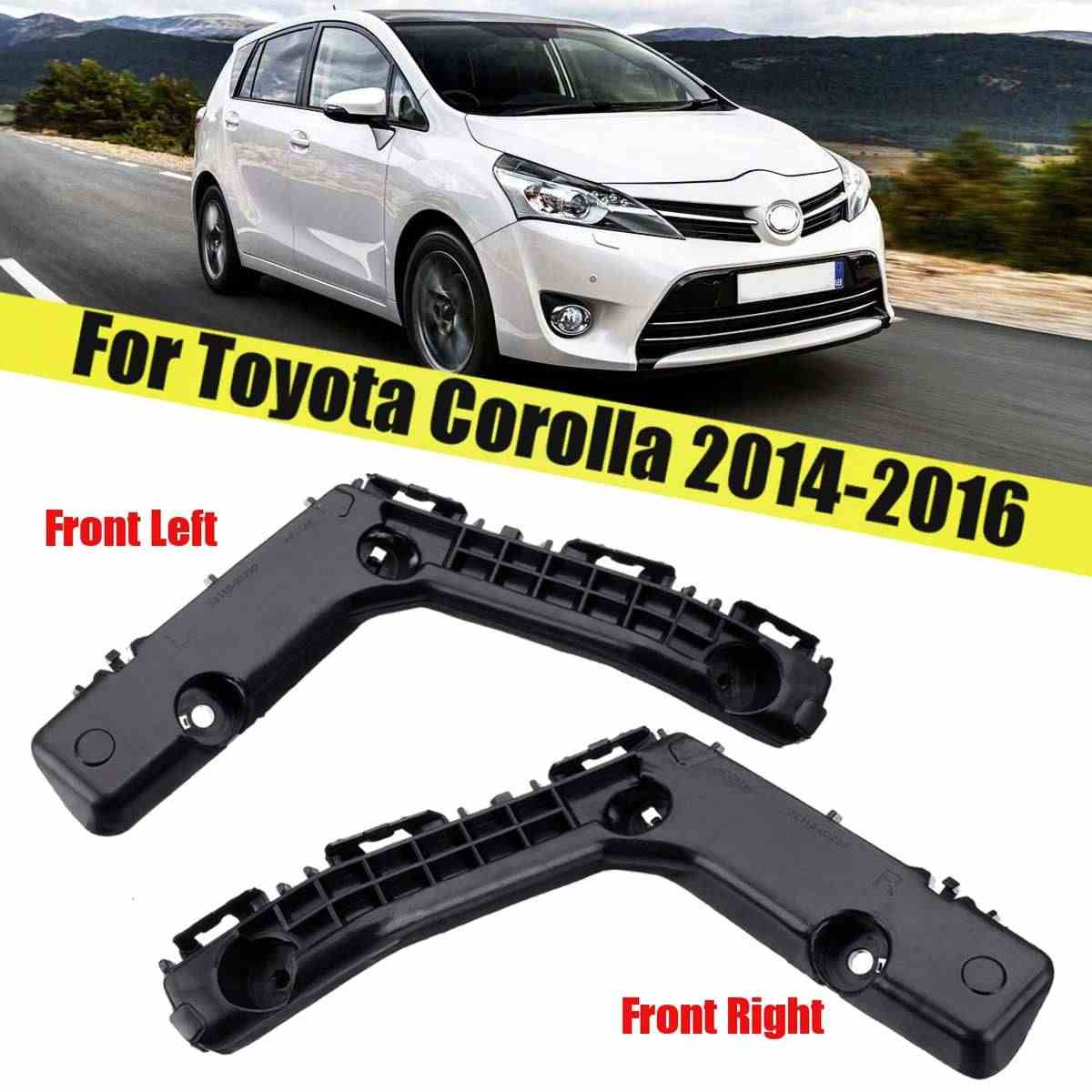 5211502240 Parts N Go 2014-2016 Corolla Bumper Bracket Front Passenger Side Right Hand RH TO1043123