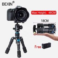 BEXIN حامل ثلاثي القوائم صغير مرن وصغير للهواتف الذكية ، وحامل طاولة للصور ، وحامل كاميرا لأجهزة iPhone