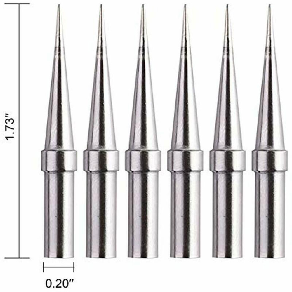 0.8mm <font><b>Soldering</b></font> <font><b>Iron</b></font> Tips Welding ETO For <font><b>Weller</b></font> WES51/50 WESD51 WE1010NA image