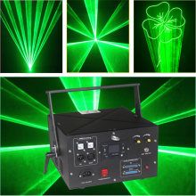 Promotion Big power single green ILDA With SD Card Patterns Laser Pointer Mini LED Projector DJ Party Show Stage Light(China)