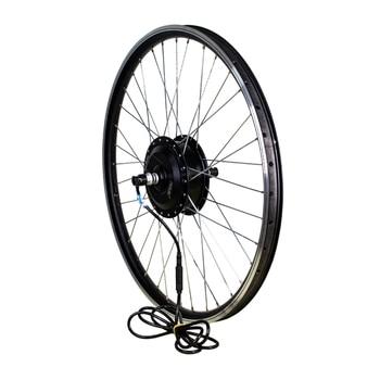 Kit de conversión de Bicicleta eléctrica, Motor de rueda de Bicicleta eléctrica de 350W y 36V, motor central delantero y trasero de 26 y 29 pulgadas, 500W y 48V