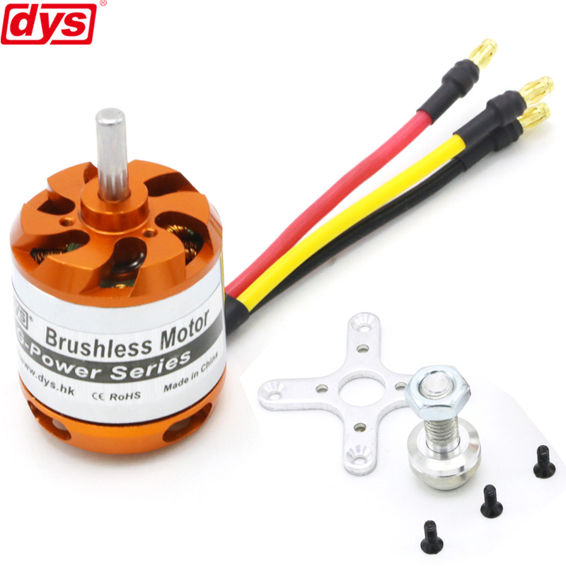 DYS D3542 1450KV <font><b>1250KV</b></font> 1000KV <font><b>Brushless</b></font> Multicopter Outrunner <font><b>Motor</b></font> For Mini Multicopters RC Plane Helicopter image