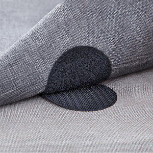5PCs Seamless Double-sided Fixed Velcro Adhesive Sofa Bed Sheets Rug Table Cloth Anti-running Anti-slip Floor Home Decoration(China)