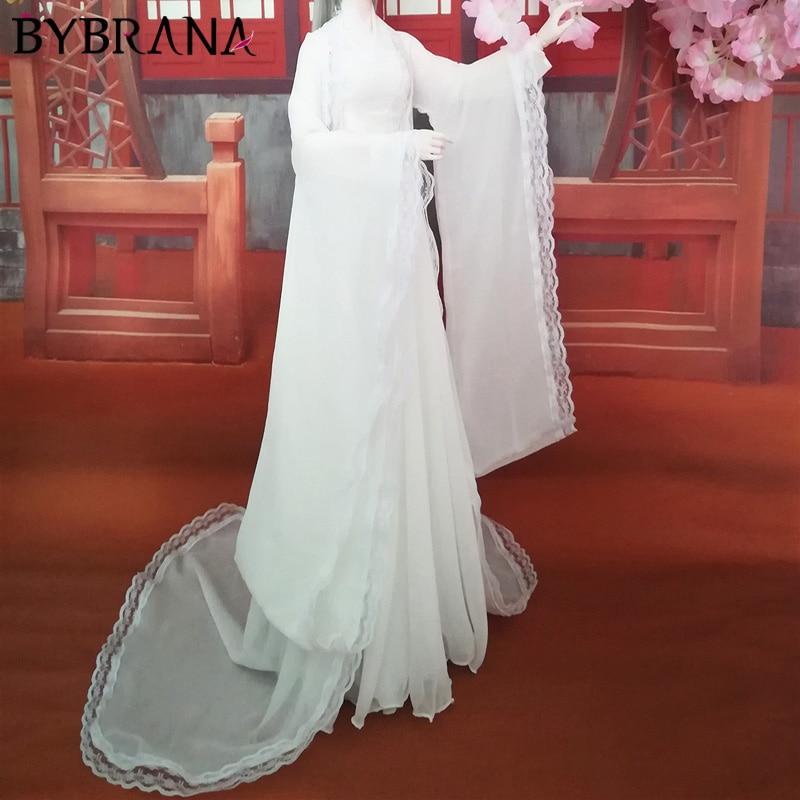 Bybrana Handmade Bjd Three-point Doll Costume Costume Chinese Style Hanfu 60 Cm Doll Dress Up Dress