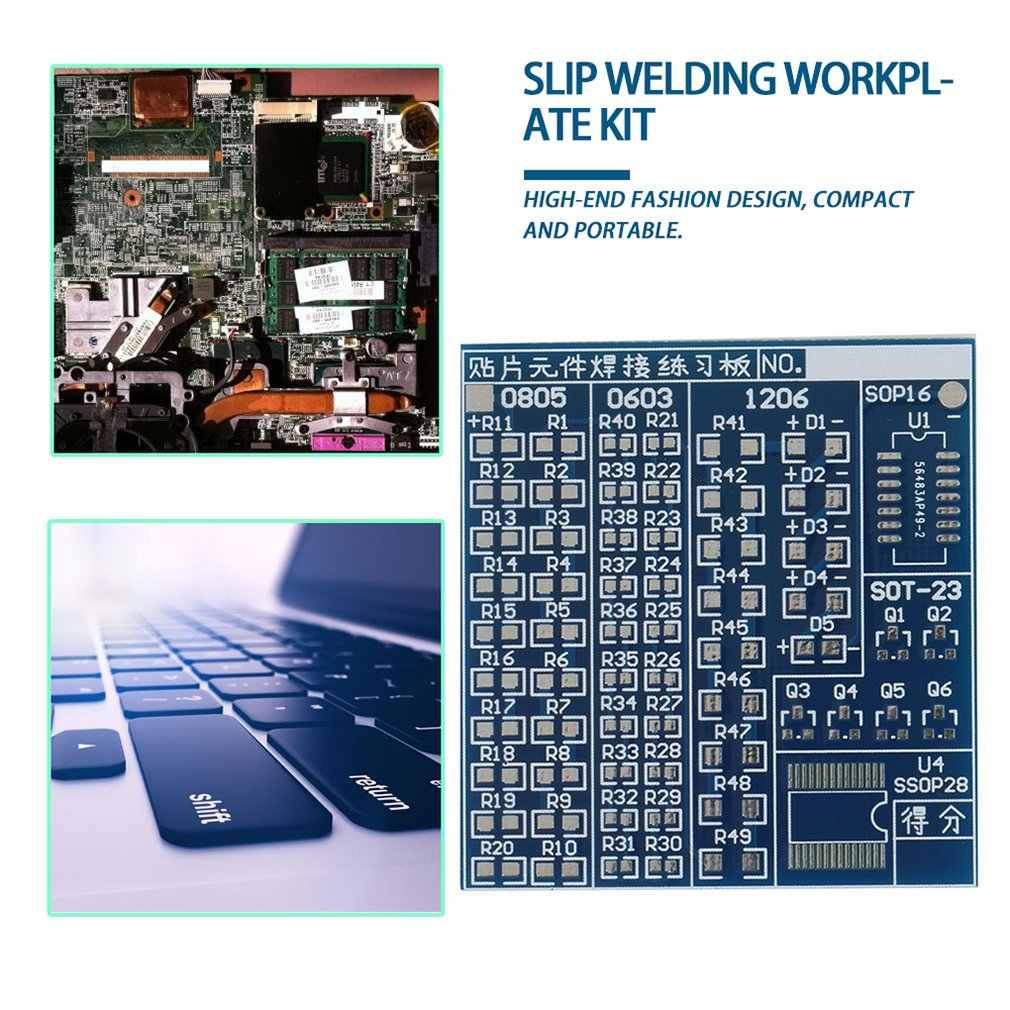 SMT SMD Komponen Las Praktek Papan PCB Solder DIY Kit Grosir
