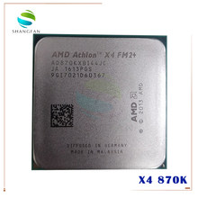 AMD Athlon X4 870K X4-870K 3,9 ГГц Quad-Core Процессор процессор AD870KXBI44JC гнездо FM2 +