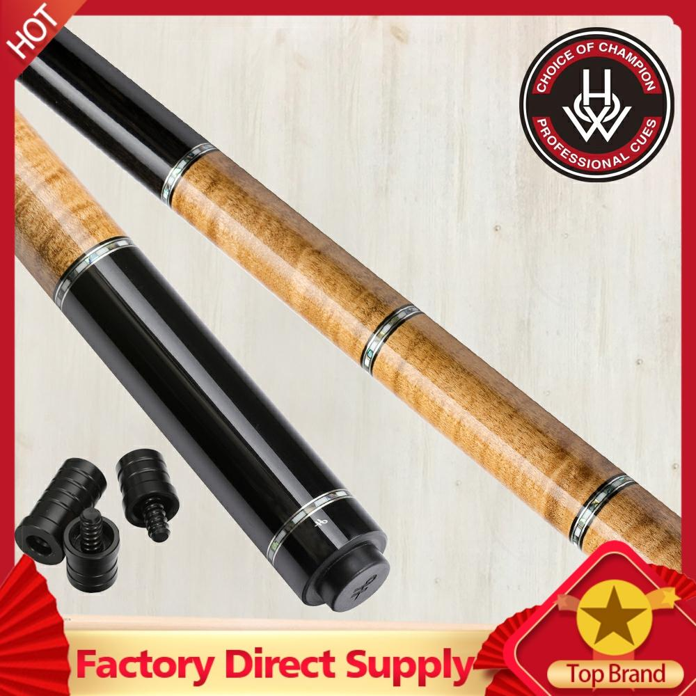 HOW ZR-05K2 Billard Cue Double Shafts 3C 3CX Carom Cue Korea 3 Cushion Cue 12mm Tip 10 Pieces In 1 Tecnologia Stick Kit