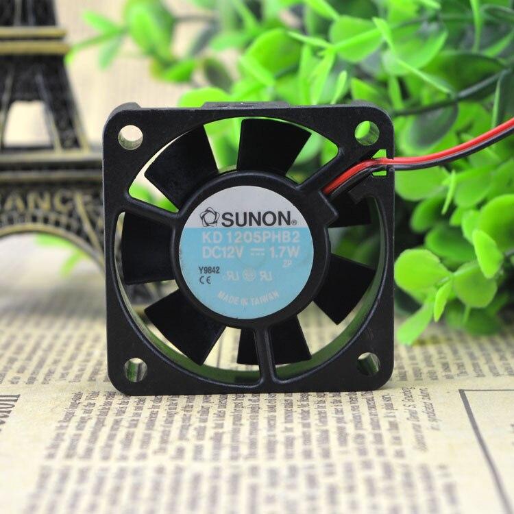 Do SUNON Jianzhan KD1205PHB2 12V 1.7W 5015 falownik wentylator podwozia wentylator przemysłowy