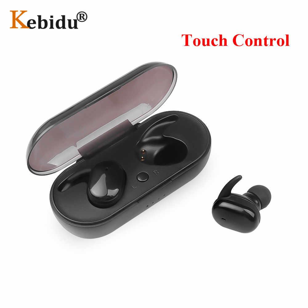 Kebidu Auriculares Bluetooth Con Microfono Incorporado 4 2 Auriculares Magneticos De Atraccion Deportivos Resistentes Al Agua Con Cable De Carga Para Iphone Auriculares Y Audifonos Aliexpress