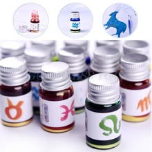 5ml Gold Powder Colorful Fountain Pen Ink Non-carbon Refilling Inks Stationery School Office Supplies Drop Shipping