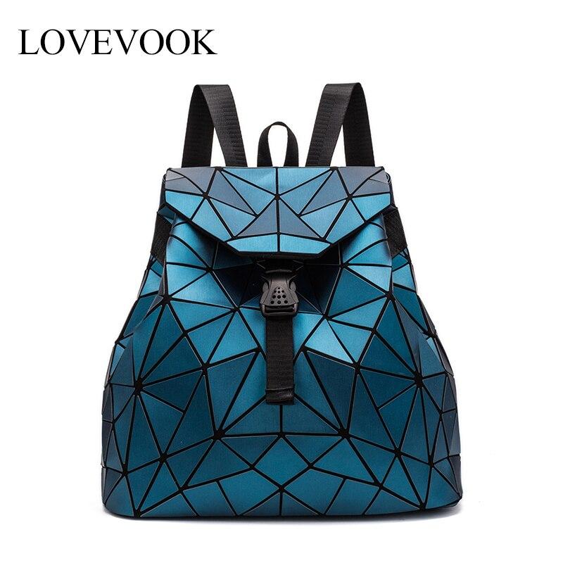Women Backpack School-Bag Large-Capacity Teenage-Girls Ladies LOVEVOOK String for Foldable