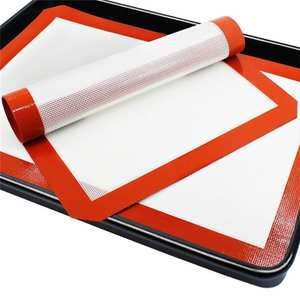 Durable Silicone Baking Mat Non-Stick Cookies Sheet Oven Mat Healthy Homewares 40FP08