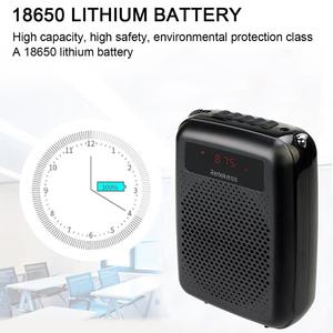 Image 5 - Wireless Microphone TR503 + Portable Voice Amplifier Loudspeaker with FM Radio MP3 Player PR16R for Teacher Training