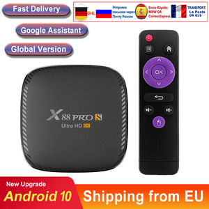 Caixa de tv android 10 x88 pro s 6k h616 quad core media player play store livre rápido android smart tv conjunto caixa superior nova