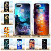 For Xiaomi Redmi 6 Case Ultra-thin Soft TPU Silicone Cover Beach Patterned Bumper Shell