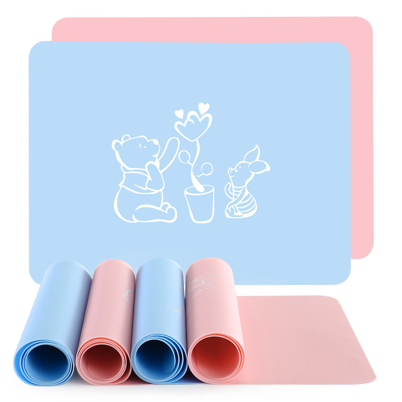 Placemats For Kids, Silicone Placemat Baby, Waterproof Heat Resistant Non-slip Kitchen Table Dining Mat, Portable Easy To Clean