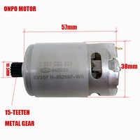 10.8 v 15 dentes dc motor (KV3SFN-8520SF-WR 1607022628) para bosch GSR1080-2-LI 3 601je2000/ue elétrica broca chave de fenda motor