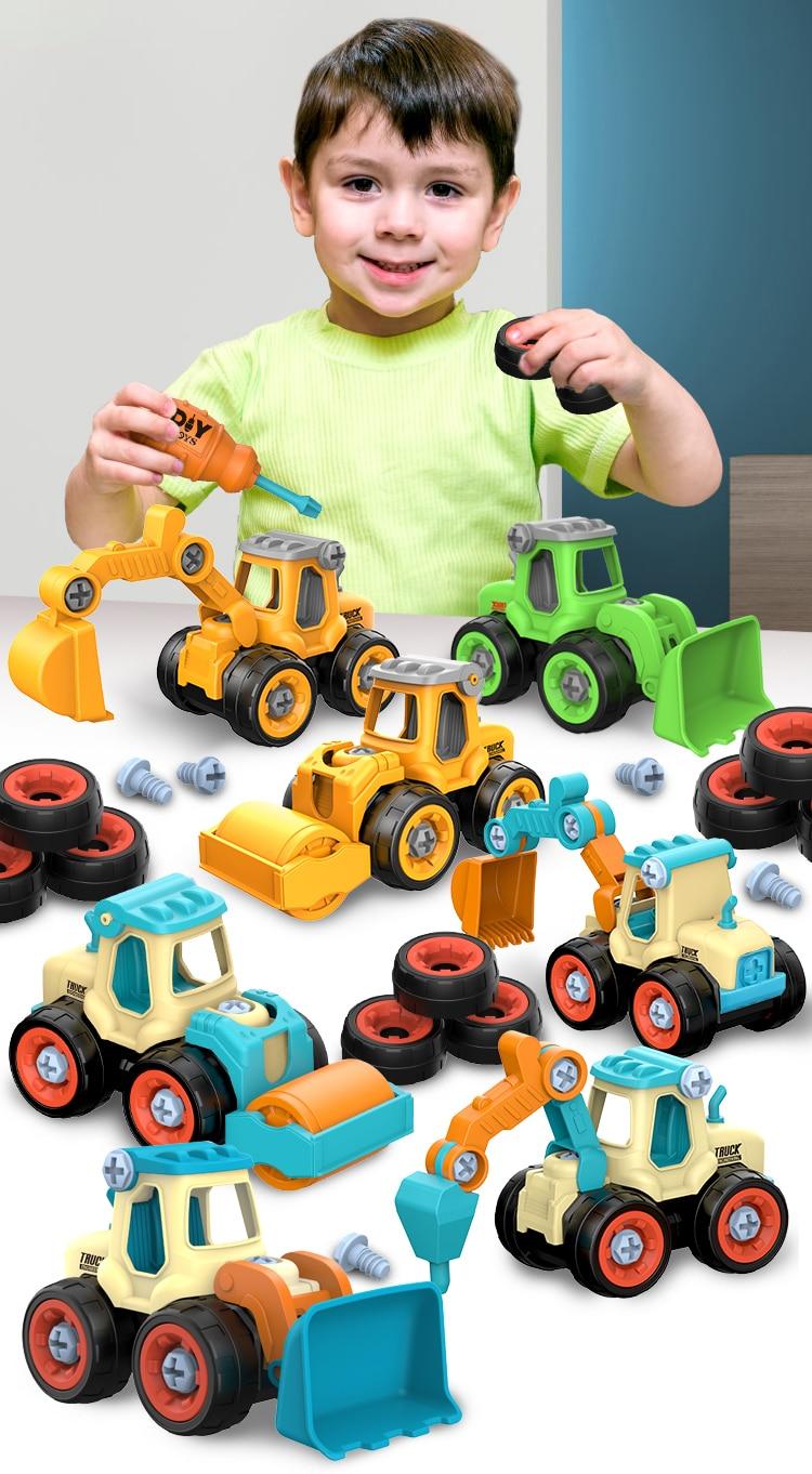 DIY Truck Engineering Toys 2