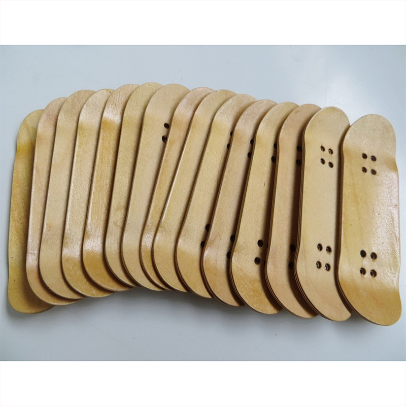 Blank Wooden Finger Skateboarding 5 Layers Maple Finger SkateBoard Adults Toy Gift Longboard Deck Skate Accessories