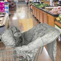 ベビー子供ショッピングカートシートクッション椅子クッション旅行ポータブルマット