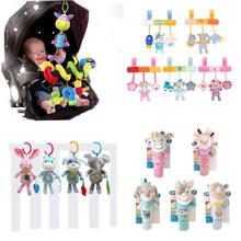 Baby Speelgoed Dier Pluche Baby Muziek Rammelaars Mobiele Speelgoed Bell Voor Peuters Opknoping Wandelwagen Bed Pasgeboren Speelgoed 0 12 maanden