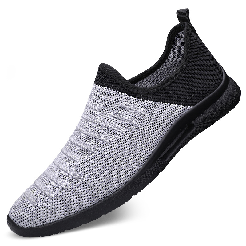 Damyuan 2020 Mens Casual Shoes Men Slip-on Sock Sneakers Breathable Light Leisue Walking Jogging Running Tenis Masculino Adulto