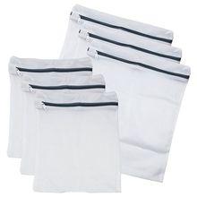6 пакет-Бюстгальтер для белья, сетчатый мешок для стирки(3 больших и 3 средних
