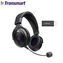 Tronsmart gölge oyun kulaklığı 2.4G kablosuz kulaklıklar rahat kafa bandı ile PS5, PS4, PC, PS4 Pro, mac, anahtar, Xbox
