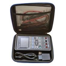 Hantek 2c72 handheld 3in1 osciloscópio digital + gerador de forma de onda multímetro portátil usb 2 canais 70mhz