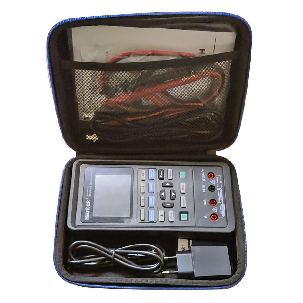 Hantek 2D72/2D42/2C72/2C42 ручной 3-в-1 цифровой осциллограф + генератор сигналов + мультиметр портативный USB 2-канальный 40 МГц 70 МГц