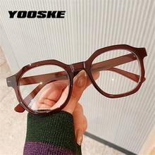 Glasses Frames Computer-Eyewear Blocking Blue Women Irregular Light TR90 YOOSKE