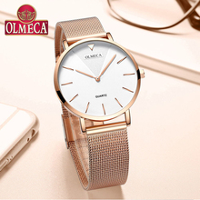 Top Brand OLMECA Watch Women Watches Fashion Wrist Watch Water Resistant Relogio Feminino For Woman Reloj Mujer Alloy  Band все цены