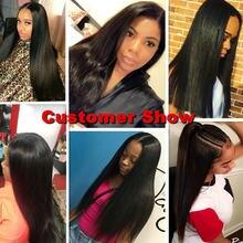 Yavida Brazilian Bone Straight Human Hair Bundles Natural Color 8A Grade 100% Human Hair Weaving Vendors Wholesale Fast Shipping