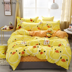 Cotton Duvet Cover Set Double