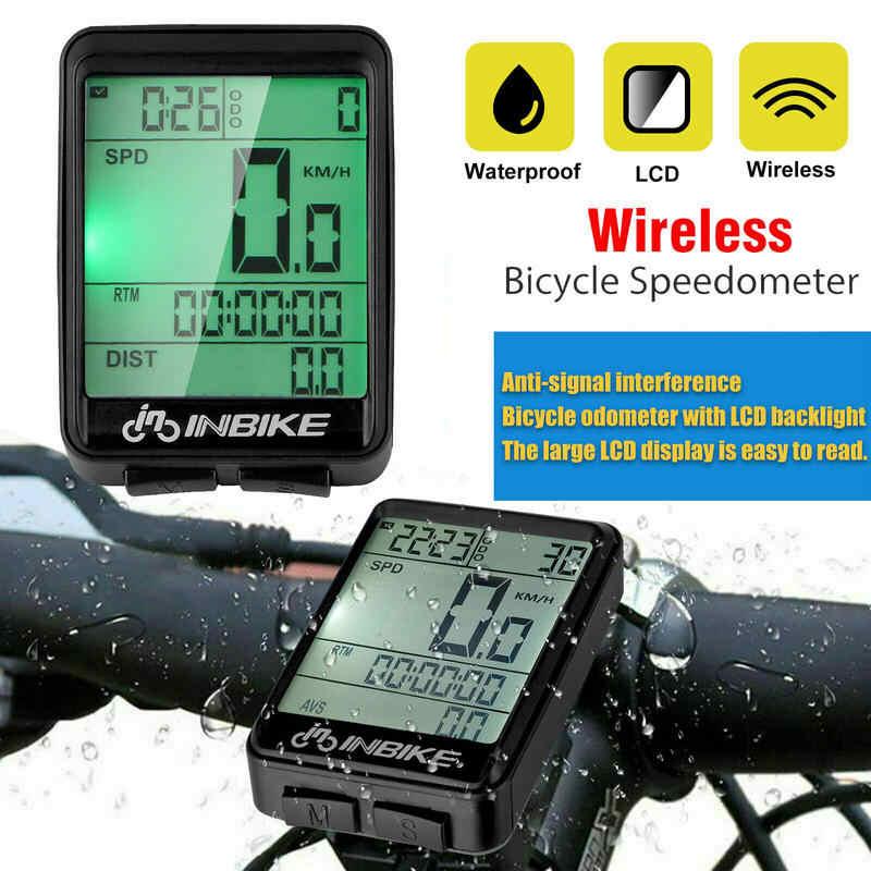 Bicicleta Montaña Velocímetro Odómetro Cronómetro para Ordenador Impermeable