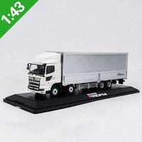 Limited metal towing tractor 1/43 scale HINO TRUCKS alloy die cast container truck model toy gift collection indoor display