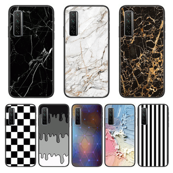 Matte Soft Silicone Phone Case For Huawei Nova p10 lite 7 6 5 4 3 Pro i p Smart ZBlack Etui 3D Coque Painting Hoesje image