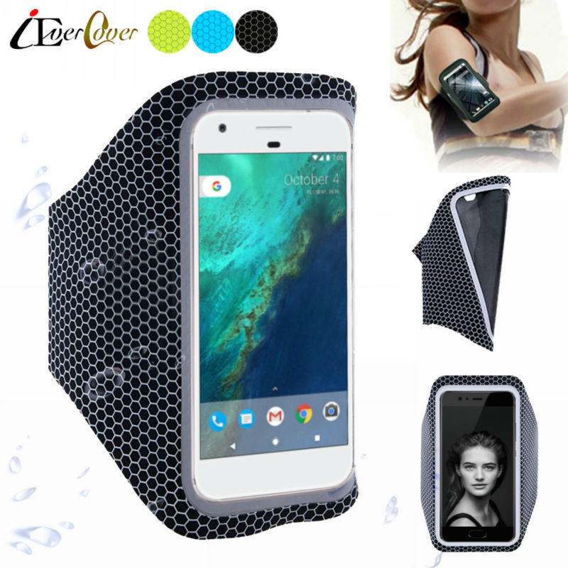 Sport Running Cycling Ultra Light Arm Band Case Cover for Google Pixel 4 3 3A 3XL 2 XL / Nexus 5X Phone Pouch Bag Skin Capa