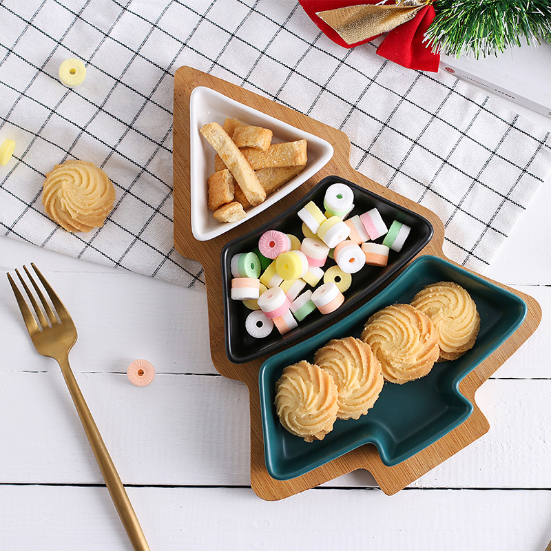 WOOD SNACK DISHES
