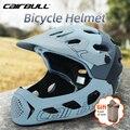 Cairbull шлем для езды на мотоцикле Для мужчин Для женщин Для мужчин литья под давлением полный уход за кожей лица MTB горный велосипедный шлем дл...