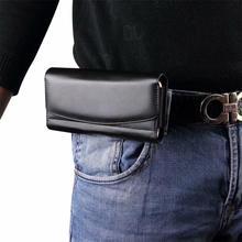 Uniwersalny pokrowiec na Xiaomi Poco X3 NFC pokrowiec na Xiaomi Poco X3 zaczep na pasek etui na telefon etui z klapką Premium talia torba