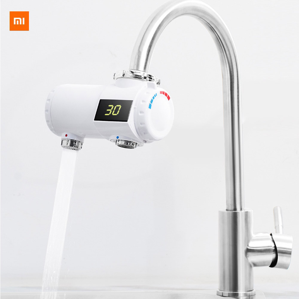 Xiaomi Xiaoda Instant Faucet Easy To Install  5 Protection IPX4 Waterproof Rating 3Seconds Hot Water 30 To 50 Degrees Celsius