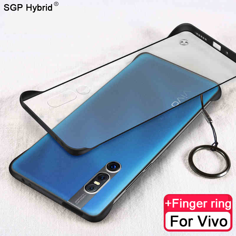 Fashion Silicone Phone <font><b>Case</b></font> on For <font><b>Vivo</b></font> Y17 <font><b>Y3</b></font> Y85 Y91 Y91c Y97 Z5X S1 V9 V15 Z1 Pro v15pro 3D Protection Finger Ring Back Cover image