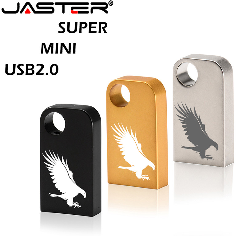 JASTER Mini Pen Drive 64 Gb 32Gb Usb 2.0 Flash Drive Pendrive Usb Stick 16 Gb 8Gb Geheugen Stick Real Capaciteit Usb Flash Stick