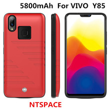 NTSPACE 5800mAh Portable Ultra Slim Power Bank Cover For VIVO Y85 Power Case Charger Case External Battery Case Power bank Cover