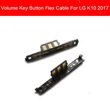 Volume Switch Side Button For LG K10 2017 LG-M250 K4 K7 K8 K9 Side Keypads Flex Cable Mobil