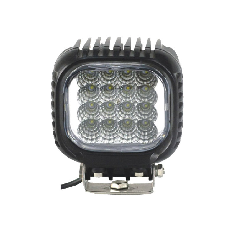 Sells 48W LED Work Light Cree Square Refit Lamp Auxiliary Lighting Headlamp Of Household Engineering Vehicle